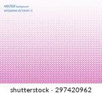 dot texture abstract vector... | Shutterstock .eps vector #297420962