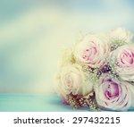 wedding bouquet.  | Shutterstock . vector #297432215