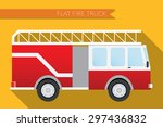 flat design vector illustration ... | Shutterstock .eps vector #297436832