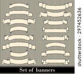 set of banners | Shutterstock .eps vector #297452636