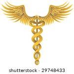 caduceus gold | Shutterstock . vector #29748433