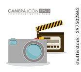 icon digital design  vector... | Shutterstock .eps vector #297502862