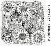 Pattern For Coloring Book. ...