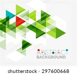 abstract geometric background....   Shutterstock .eps vector #297600668