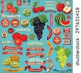 Vintage Farm Fresh Fruit Poste...