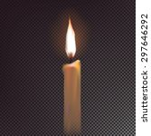 candle. vector element for... | Shutterstock .eps vector #297646292