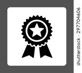 guarantee icon from award... | Shutterstock .eps vector #297704606