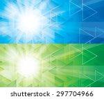 star burst background | Shutterstock .eps vector #297704966