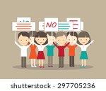 demonstration illustration | Shutterstock .eps vector #297705236