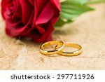 Wedding Rings And Artificial...