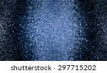 bright abstract mosaic blue... | Shutterstock . vector #297715202