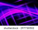 purple abstract technology... | Shutterstock . vector #297730502
