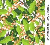 seamless pattern from... | Shutterstock .eps vector #297740882