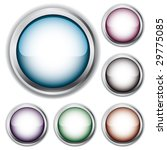 set of buttons   version vector ... | Shutterstock . vector #29775085