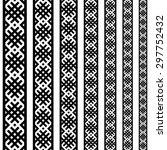 border decoration elements... | Shutterstock .eps vector #297752432