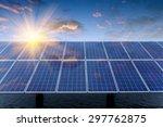 solar panels | Shutterstock . vector #297762875