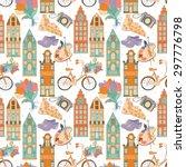 Travel Seamless Pattern.set Of...