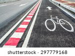 image of asphalt road and new...   Shutterstock . vector #297779168