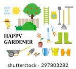 vector flat illustration of... | Shutterstock .eps vector #297803282