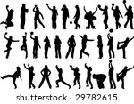 woman handball and fitness... | Shutterstock .eps vector #29782615