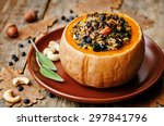 Pumpkin Stuffed With Rice ...