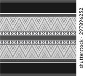 ethnic ornamental textile... | Shutterstock .eps vector #297896252