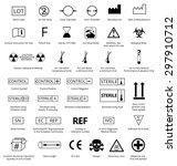 vector set of international... | Shutterstock .eps vector #297910712