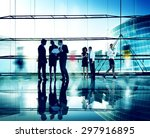 business people corporate... | Shutterstock . vector #297916895