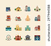 vector web flat icons set  ...