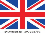 great britain  united kingdom... | Shutterstock .eps vector #297965798