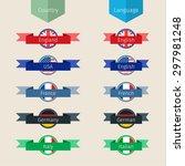 concept of translation....   Shutterstock .eps vector #297981248