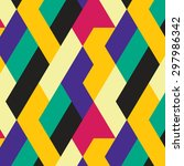 seamless pattern with... | Shutterstock .eps vector #297986342