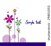 flower background vector... | Shutterstock .eps vector #29801053