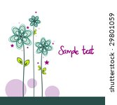flower background vector... | Shutterstock .eps vector #29801059
