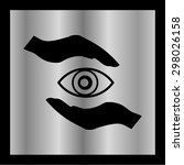 eye icon  vector illustration....