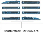 kit contains  1st and 2nd class ... | Shutterstock .eps vector #298032575