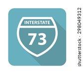 interstate 73 icon