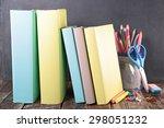 back to school | Shutterstock . vector #298051232