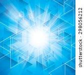 star burst background | Shutterstock .eps vector #298056212