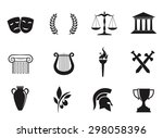 ancient  greek civilization.... | Shutterstock . vector #298058396
