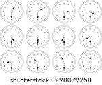 clock | Shutterstock .eps vector #298079258