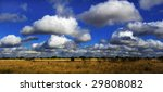White Cloud Formations In A...