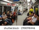 singapore   circa february ... | Shutterstock . vector #298098446