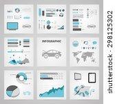 vector illustration of modern... | Shutterstock .eps vector #298125302