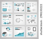 vector illustration of business ... | Shutterstock .eps vector #298133222