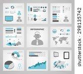 vector illustration of business ... | Shutterstock .eps vector #298135742