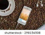 chiang mai   thailand july 20 ... | Shutterstock . vector #298156508