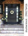 front door of a luxurious home.  | Shutterstock . vector #298176416