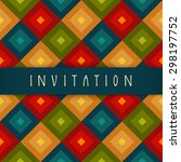 Vector Invitation Card Design...