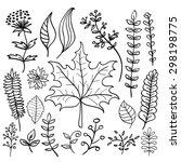 hand drawn doodle vector... | Shutterstock .eps vector #298198775